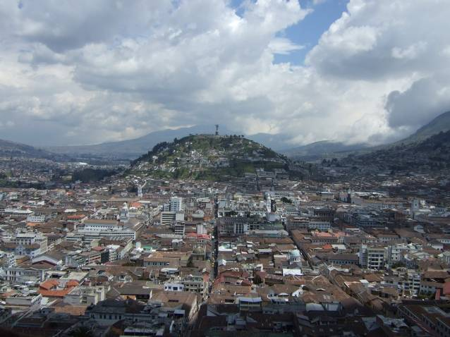 Quito in Ecuador